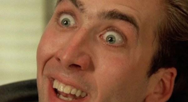 Nic Cage in Vampire's Kiss - Oddeon Hallowe'en