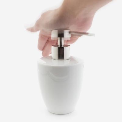 distributeur de savon blanc zen
