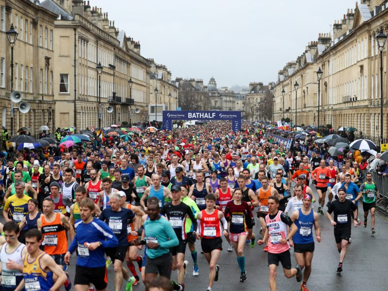 View of 2020 runners