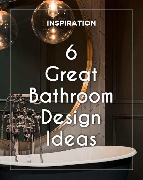 6 Great Bathroom Design Ideas from BATHLINE | Bathrooms ... on Great Bathroom Ideas  id=78714