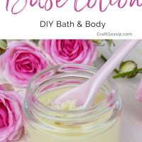 DIY Base Cream Recipe From Scratch