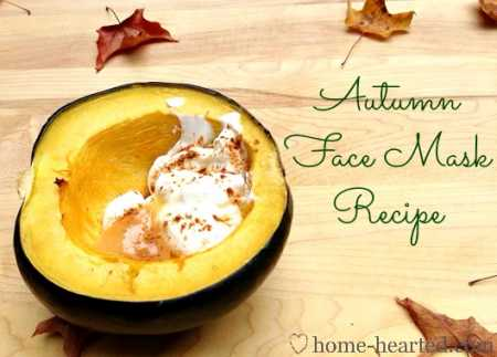 Autumn Face Mask Recipe