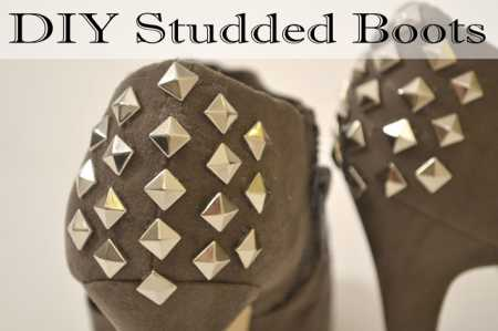 Style Me Quick – DIY Studded Heels