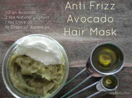 hair-avocado-oil-mask-anti-frizz-straightener