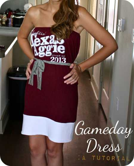 Style Me Quick – Game Day Dress