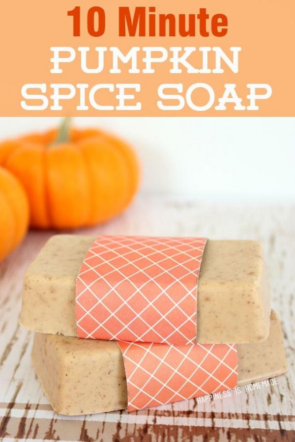 pumpkin-spice -soap