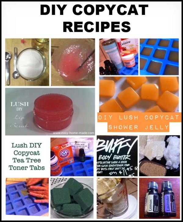 Lush Copycat Recipes