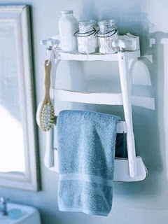 Unique  Chair Towel Rack from By Your Hands