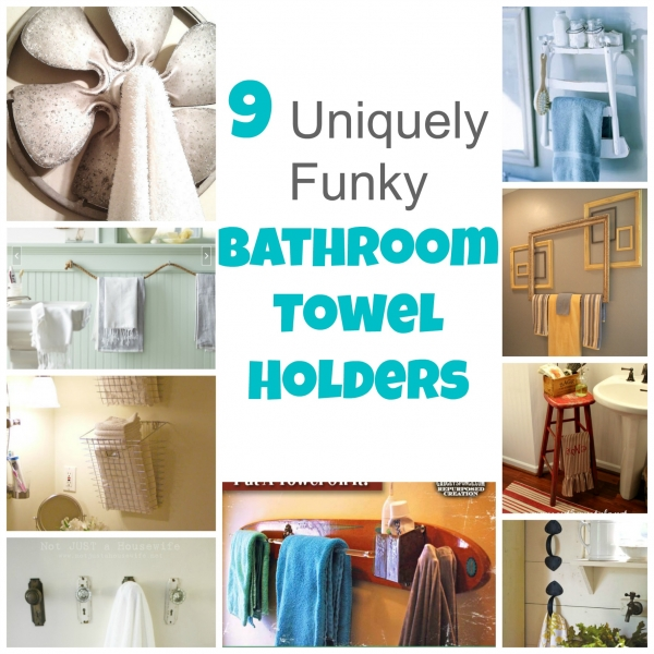 Great Are You Looking For A Fun Way To Display Your Bathroom Towels That Is Both  Pretty And Functional? These 9 Ideas Fit Right Into Those Categories And  Are Very ...