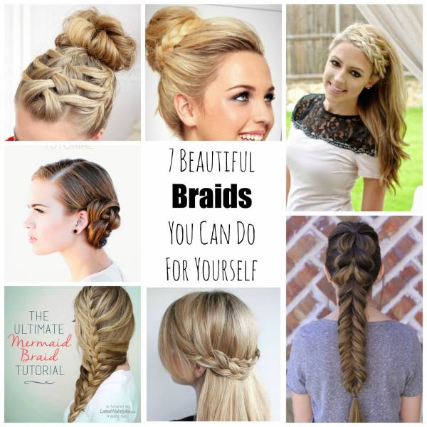 Wedding Hairstyle You Can Do Yourself: 7 Beautiful Braids You Can Do For Yourself