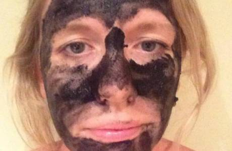 DIY Activated Charcoal Peel Off Pore Mask