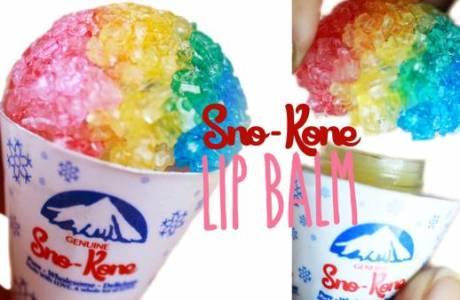 DIY Snow Cone Lip Balm