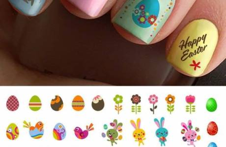 Style Me Quick – Easter Nail Wraps