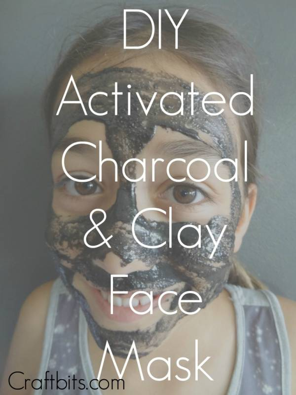Activated Charcoal And Clay Face Mask