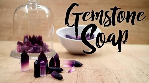 Soap Making Video Gemstone Soaps