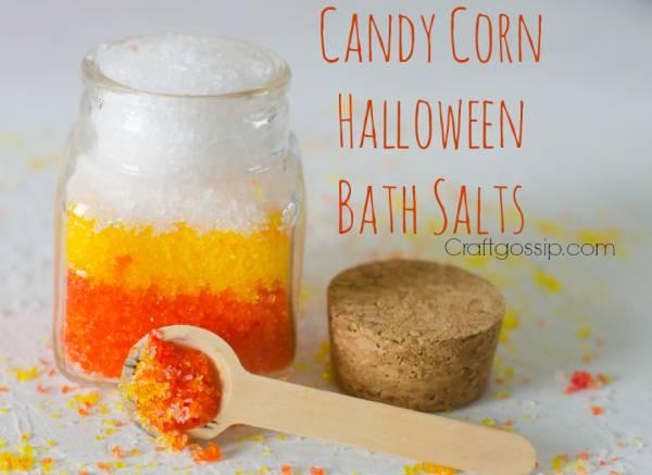 Halloween Gift Candy Corn Bath Salts