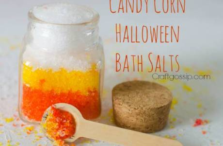 Halloween Gift – Candy Corn Bath Salts