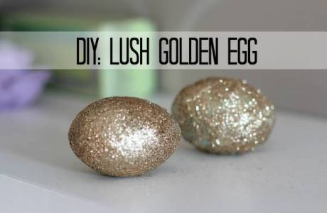 Golden Glitter Egg Lush Copy