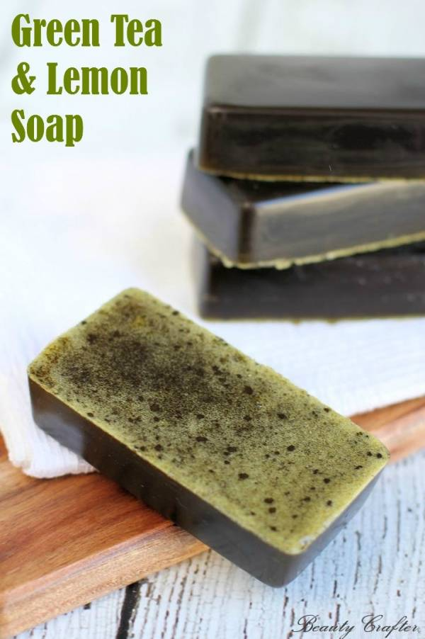 Melt and Pour Soap – Lemon & Green Tea