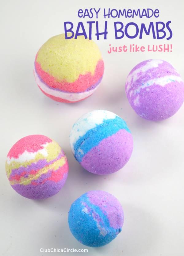 Lush Bath Bomb Recipe