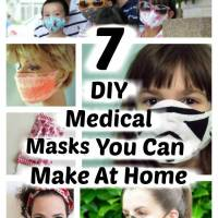 7 Masks You Can Make At Home To Help Avoid Flu and Viruses