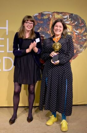 Kate Longman with Kate Simants (Photo credit: Emma Seal)