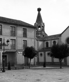 The real Alar del Rey in the north of Spain in the foothills of the Cantabrian mountains.