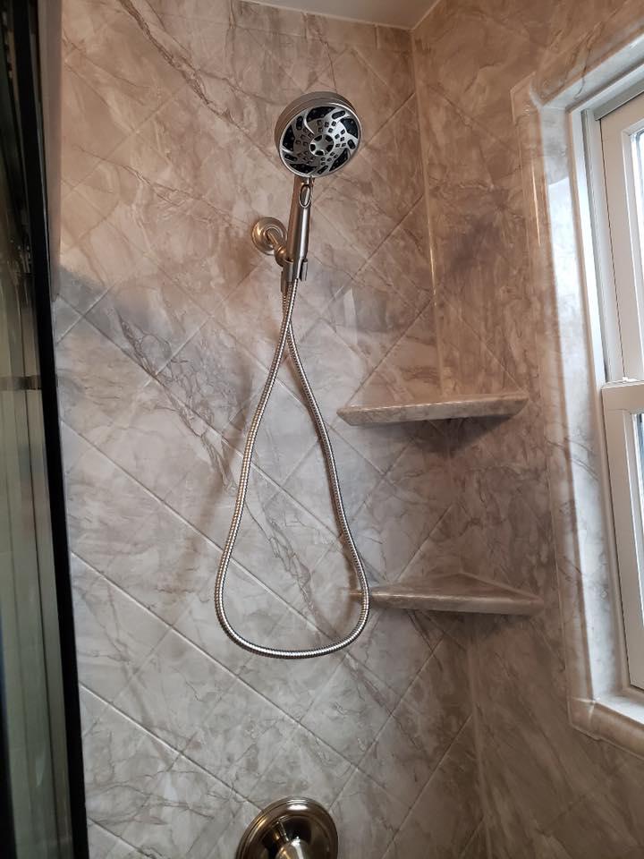 bathroom vinyl walls