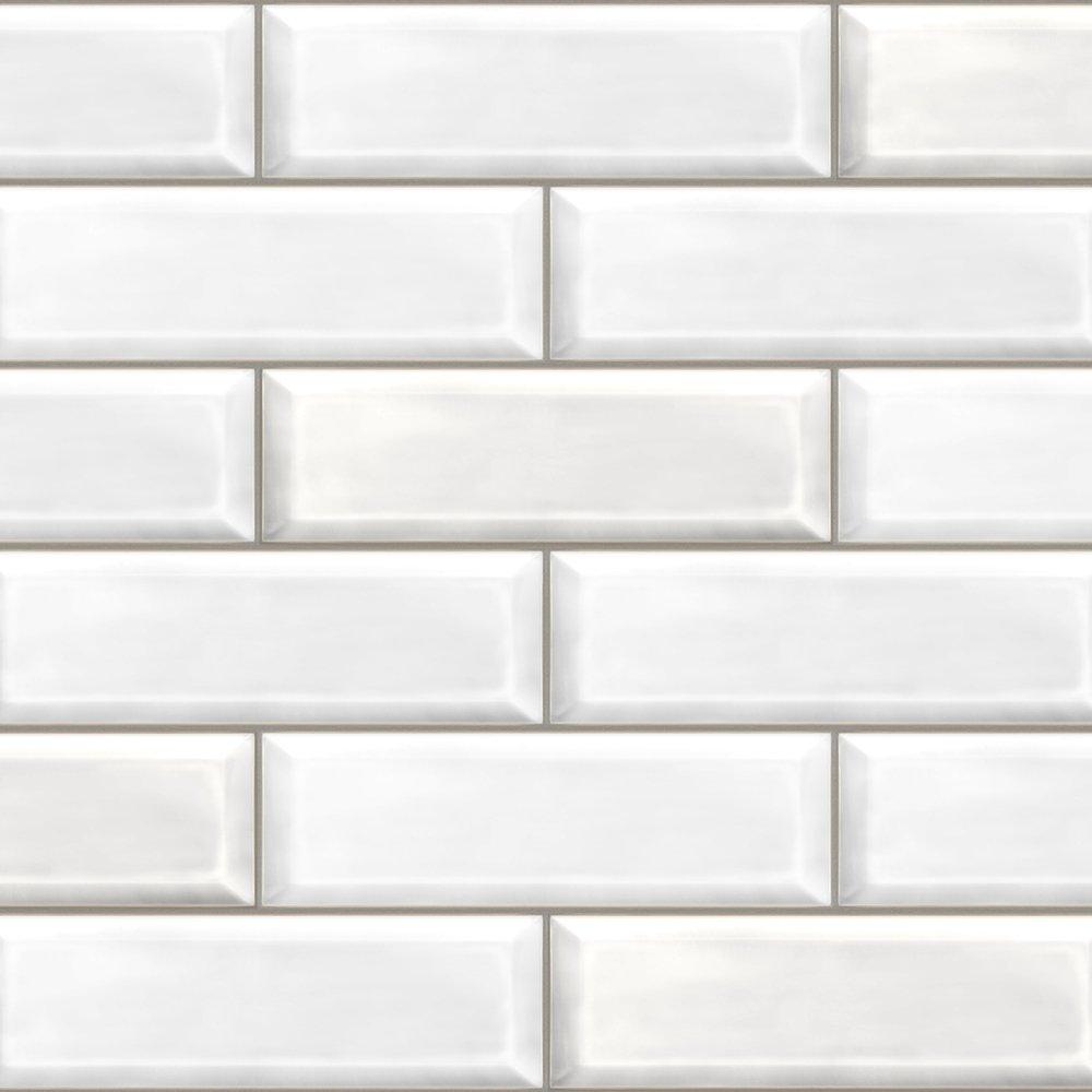 white brick free sample bathroom