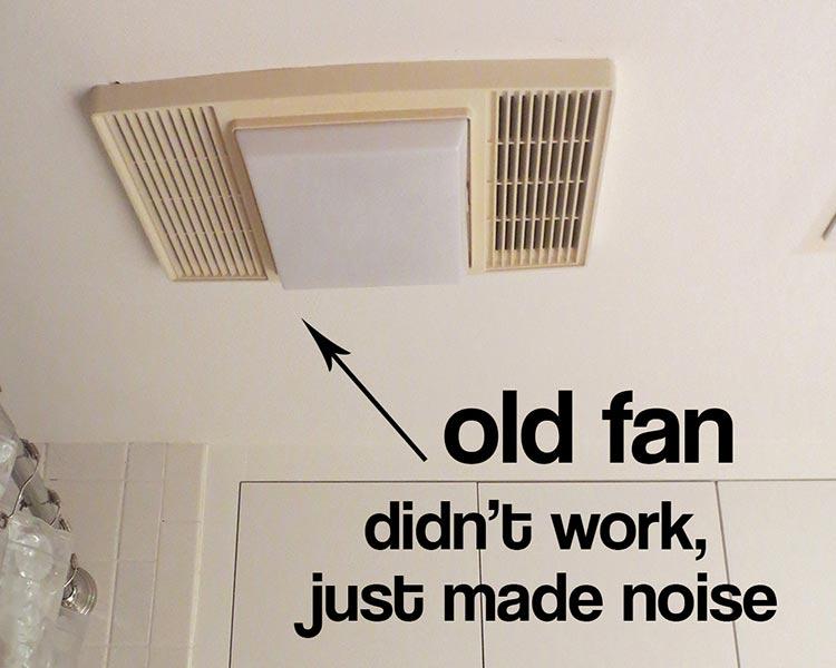 best bathroom exhaust fan replacement