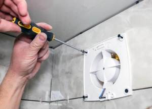 How To Remove A Bathroom Fan Blade