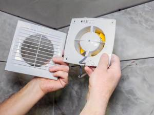 How To Replace Light Bulb In Bathroom Exhaust Fan