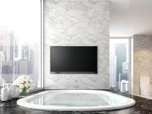 How To Put A Tv In The Bathroom