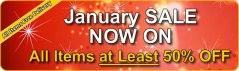 january sale at click basin
