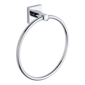 Cheapsuites Liso Chrome Towel Ring