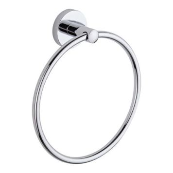 Cheapsuites Prise Chrome Towel Ring