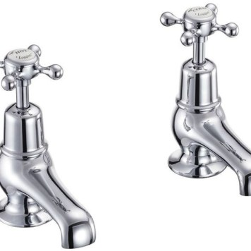 Burlington Claremont Basin Taps 3'' - Chrome