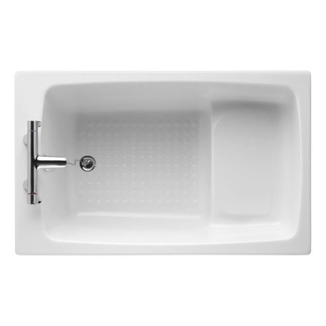 Armitage Shanks Showertub Idealform 2TH Shower Bath- 1200 x 750mm