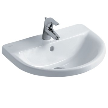 Ideal Standard Concept ARC Countertop Basin, 1 Tap Hole, 550mm, White