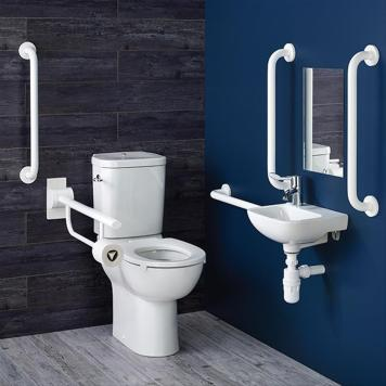Armitage Shanks Doc M Contour 21 Close Coupled Right Hand Toilet Suite
