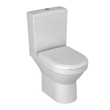 Vitra S50 Compact Close Coupled Open Back Toilet Pan