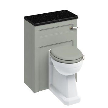 Burlington Back To Wall Toilet Regal Olive WC Unit - Includes Cistern
