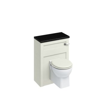 Burlington Classic Back To Wall Toilet Unit & Cistern Sand - 600mm
