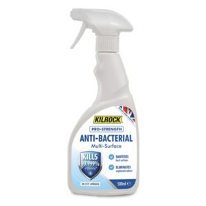Kilrock Pro-strength Not concentrated Anti bacterial Multi-surface Cleaning spray 500ml
