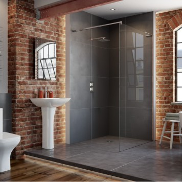 Vicenza Complete Suite (C/C WC, Steel Single End 2TH Bath and 1TH Full Pedestal Basin)