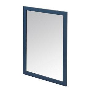 GoodHome Perma Blue Bathroom Mirror (H)700mm (W)500mm