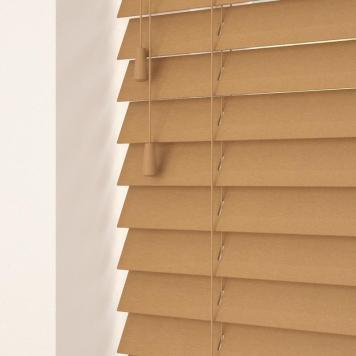 35mm Primary Wood Venetian Blinds Medium Oak