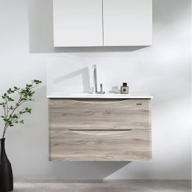 900mm Wall Mount Vanity - Canyon Oak