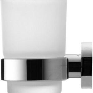 Duravit D Code Glass Holder Left Side – chrome