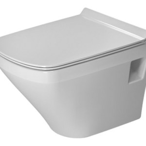 Duravit DuraStyle Compact Wall Mounted Toilet with automatic closure Seat – 370mm x 480mm – HYG – White